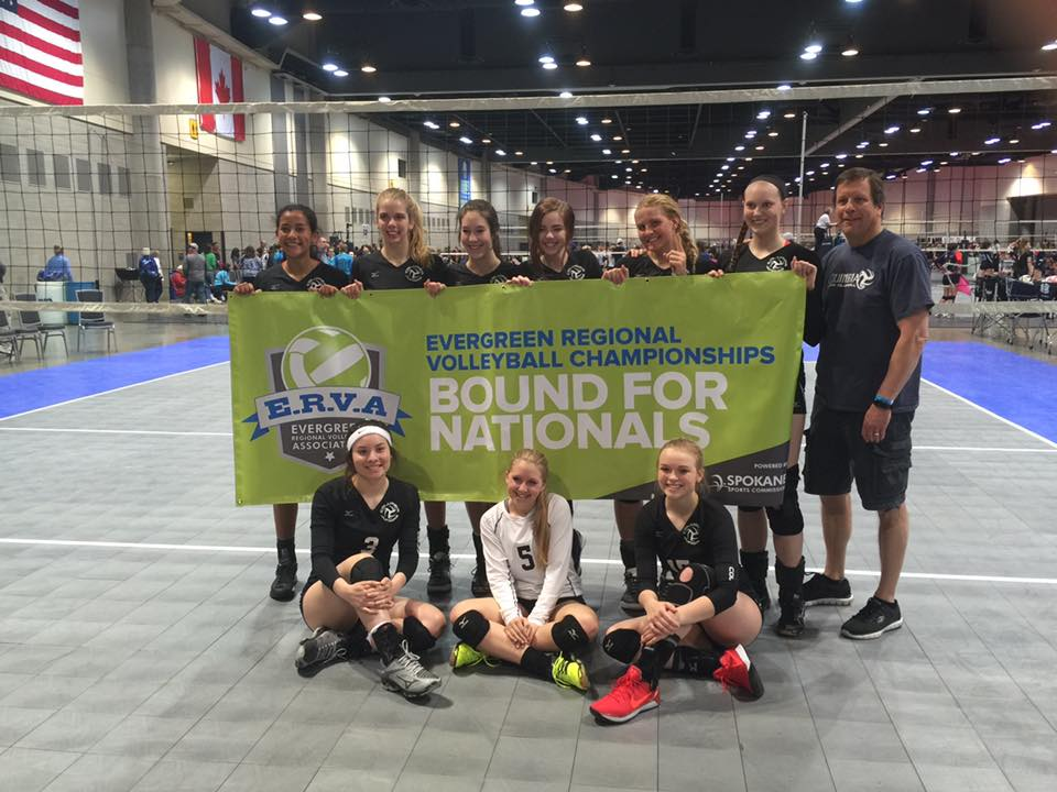 2017 Columbia 17-Black, 17-National Bid Champions ERVA